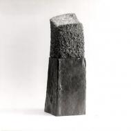 Dress, 2000, arduin, plomp/wood, 50 x 16 x 15 cm