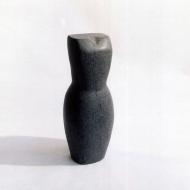 Dress, 2005, diabaas, 50 x 22 x 22 cm