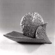 Wind, 1991, serpentine, 56 x 26 x 32 cm