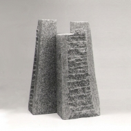 Dress, 2005, granite, 46 x 30 x 25 cm