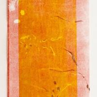 2014 monoprint, 78x17 cm