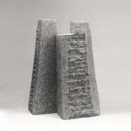 Dress, 2005, granite, 46 x 30 x 25 cm