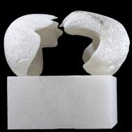 Mercy Seat, 2008, alabaster, 30 x 26 x 44 cm