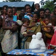 2007 Moeder en Kind, marmer, Papoea-Nieuw-Guinea